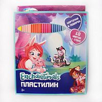 "Пластилин 10 цветов ""Enchantimals"""