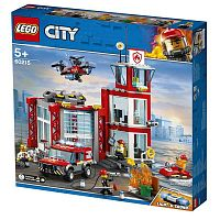 Конструктор LEGO CITY Fire Пожарное депо