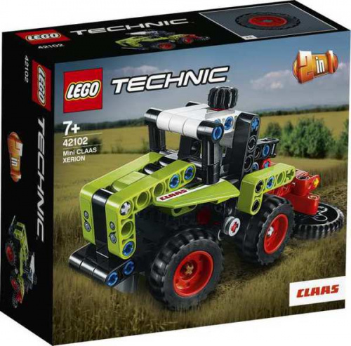 Конструктор LEGO TECHNIC Mini CLAAS XERION
