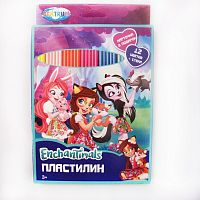 "Пластилин ""Enchantimals"", 12 цветов"