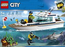 Конструктор LEGO CITY Great Vehicles Яхта для дайвинга